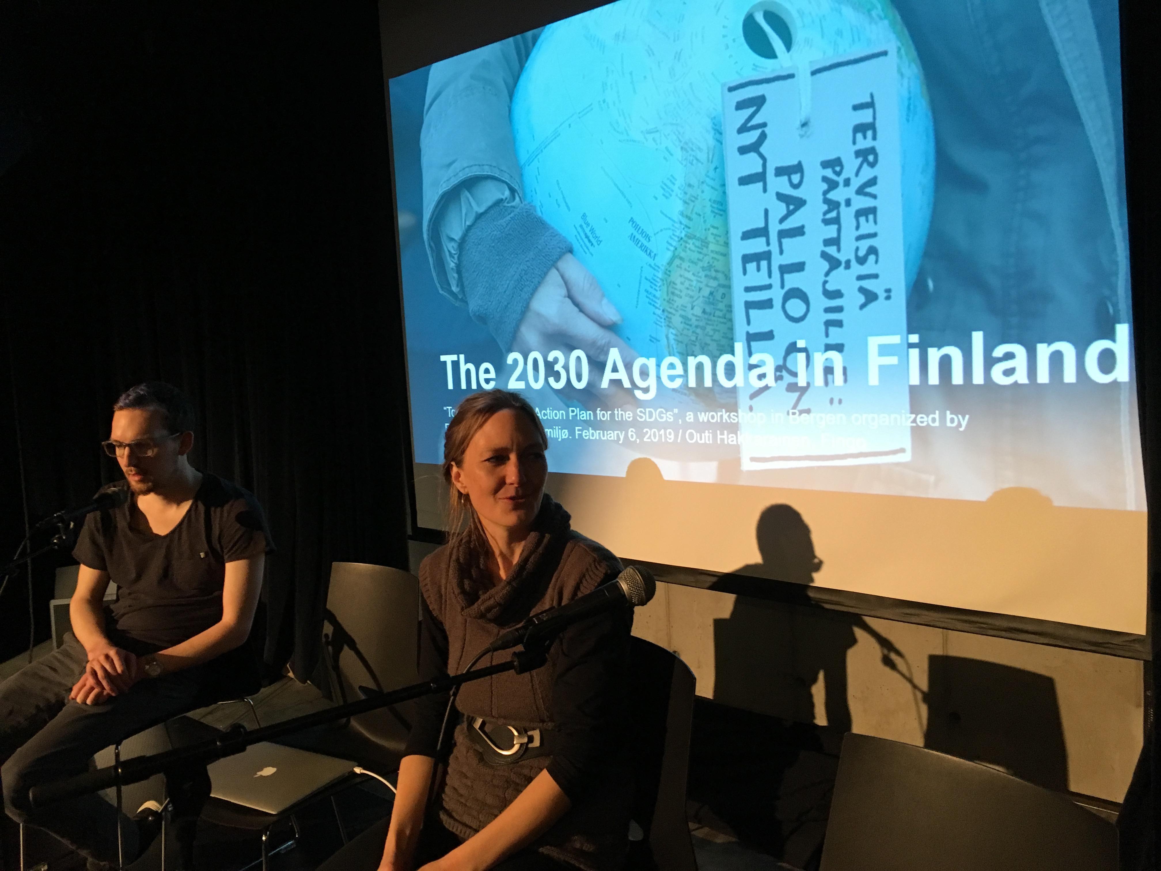 SDG-seminar i Bergen