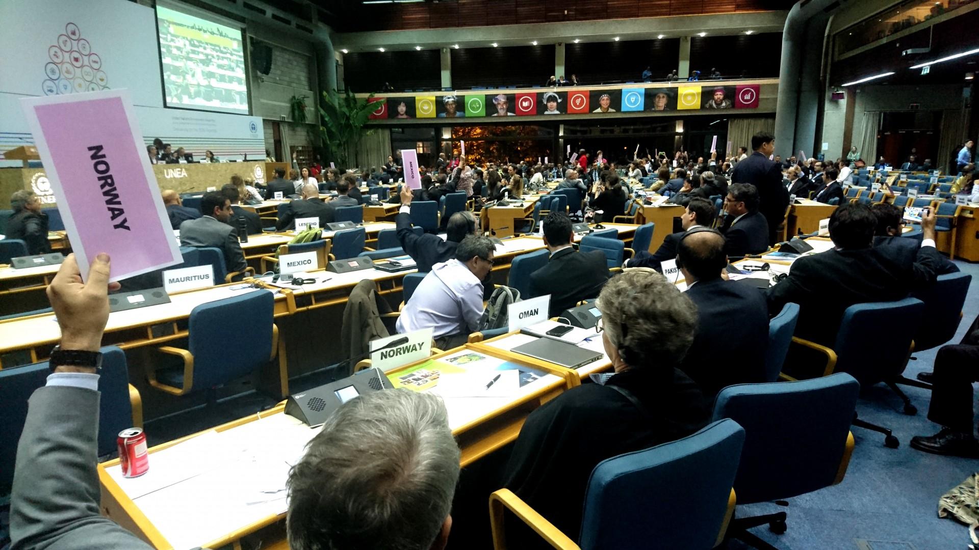 UNEA styrker det globale miljøarbeidet