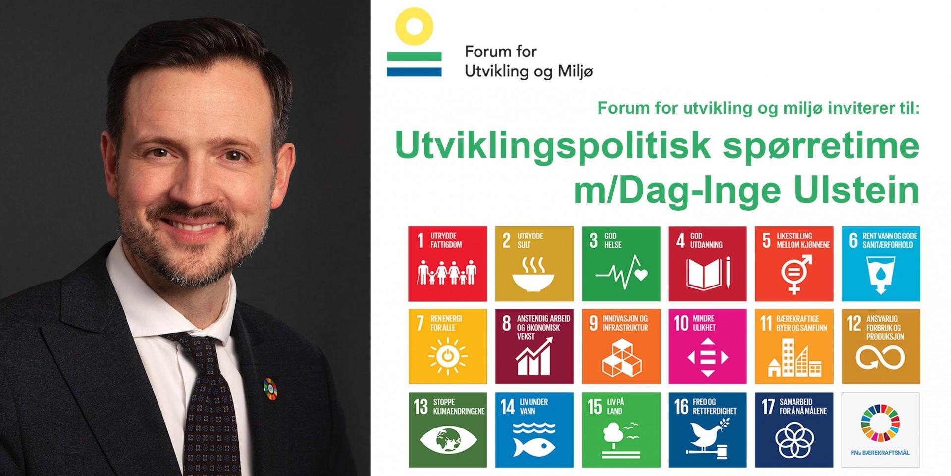 Utviklingspolitisk spørretime med Dag-Inge Ulstein