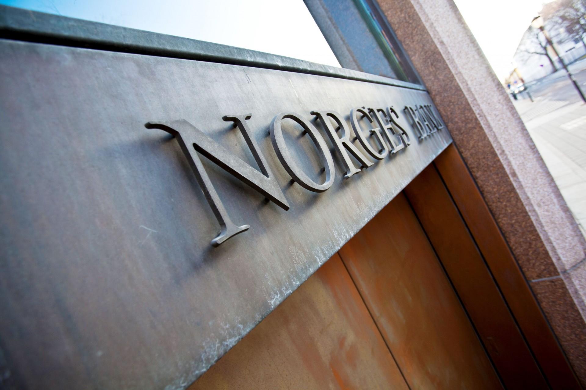 Norges Bank varsler at de vil innføre forhåndsfiltrering