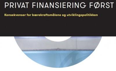 Verdensbankens strategi om utviklingsfinansiering - hva vet vi?