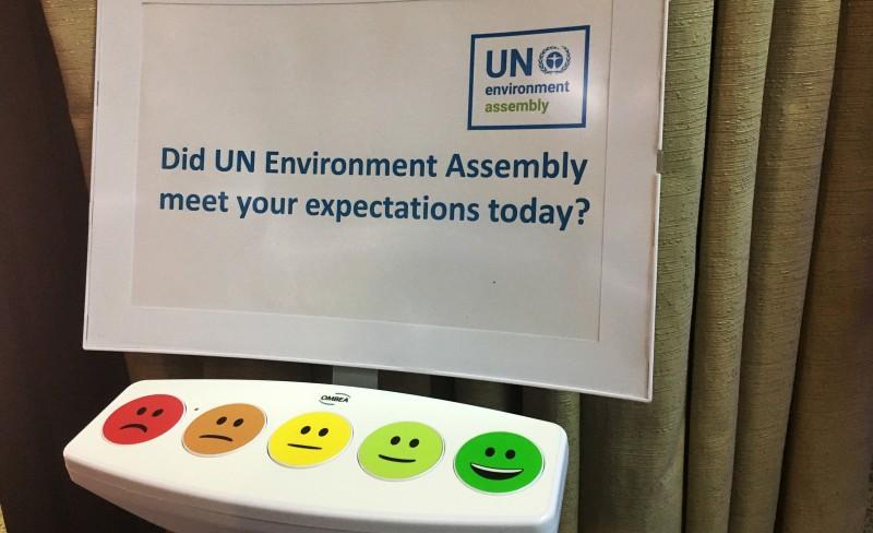 Få framskritt å spore fra FNs fjerde miljøforsamling