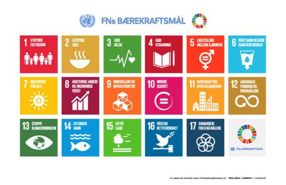 FNs bærekraftsmål vedtas