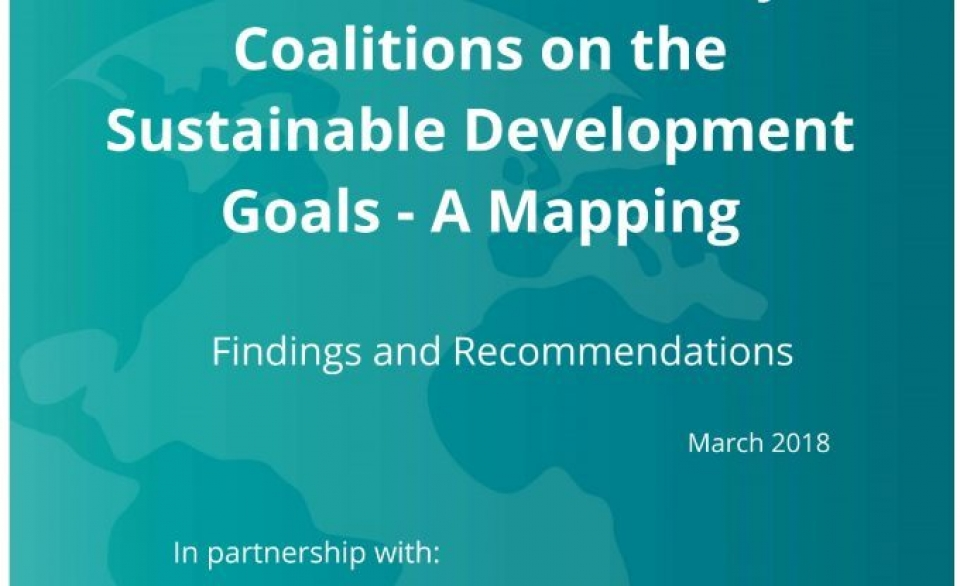 New report maps the SDG work of CSO Coalitions