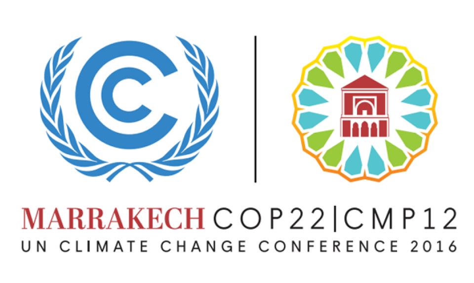 Innspill til COP22 i Marrakech 2016