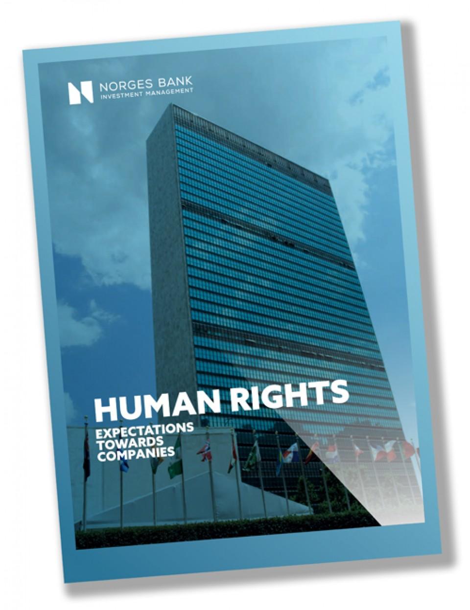Oljefondet skal følge menneskerettighetene